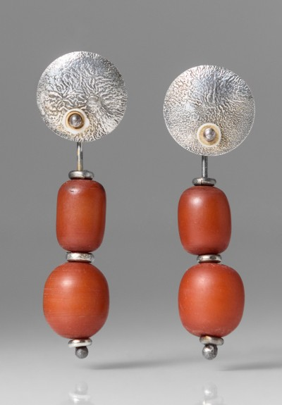 Holly Masterson Russet African Amber Earrings