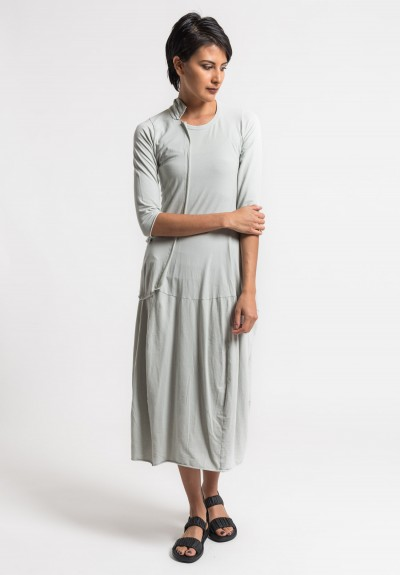 Rundholz Black Label Long External Pocket Dress in Sea
