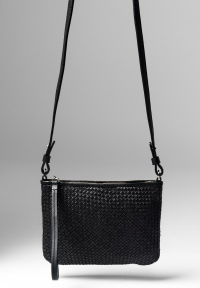 Massimo Palomba Lily CB Wood Bag in Black