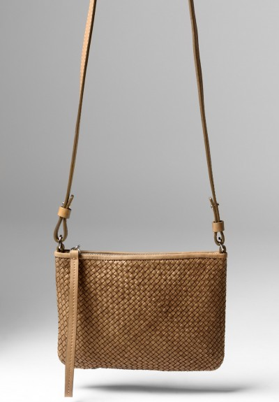 Massimo Palomba Lily CB Wood Bag in Desert