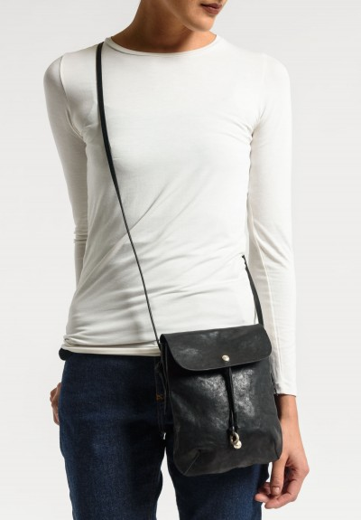 Massimo Palomba Myra Puccini Cross Body Bag in Black
