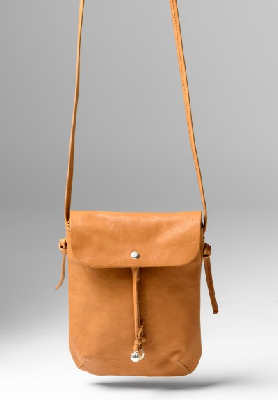 Massimo Palomba Myra Puccini Cross Body Bag in Cuoio
