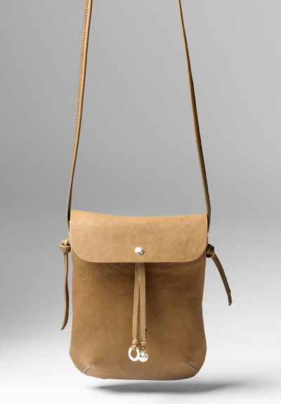 Massimo Palomba Myra Puccini Cross Body Bag in Desert