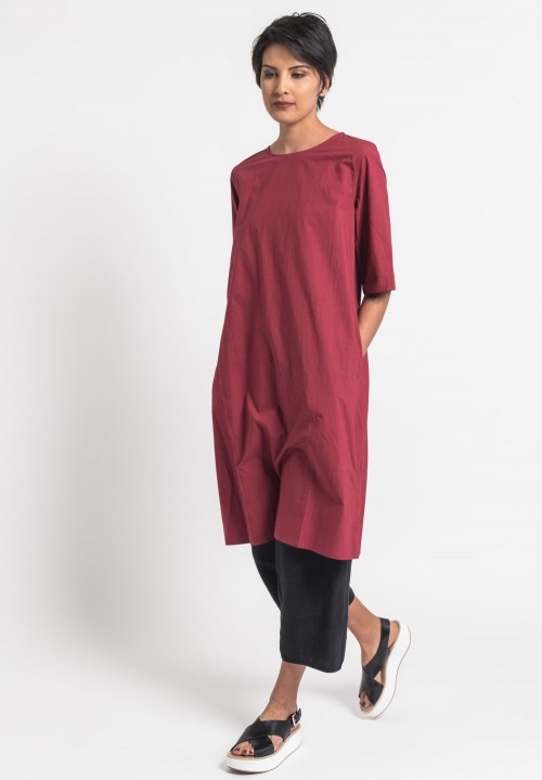 Toogood Cotton Percale Printer Tunic in Barn