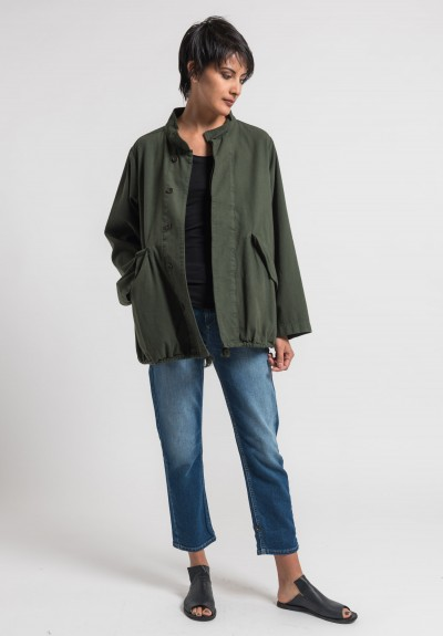 Labo.Art Giacca Ruth Marrakech Jacket in Olive