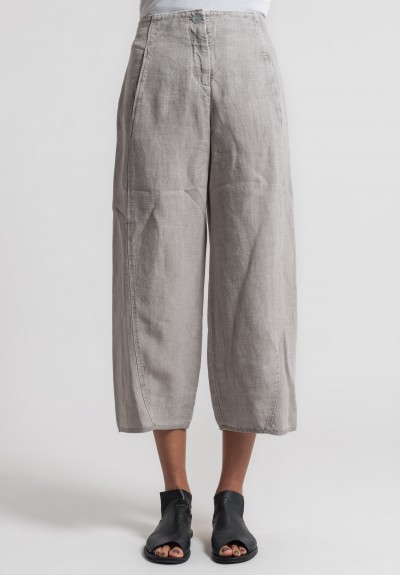 Oska Linen Tami Short Pants in Natural