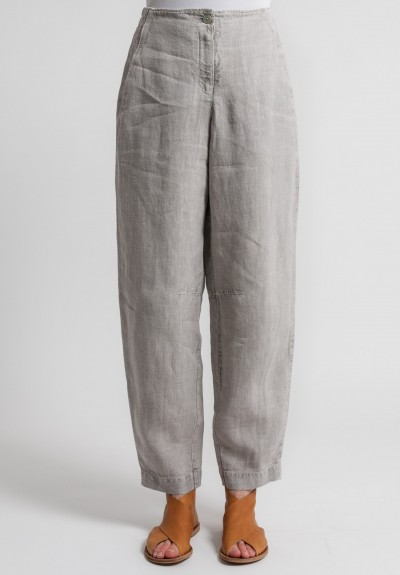 Oska Linen Tyra Pants in Natural