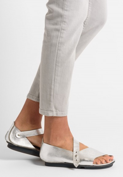 Trippen Marlene Sandal in Nickel
