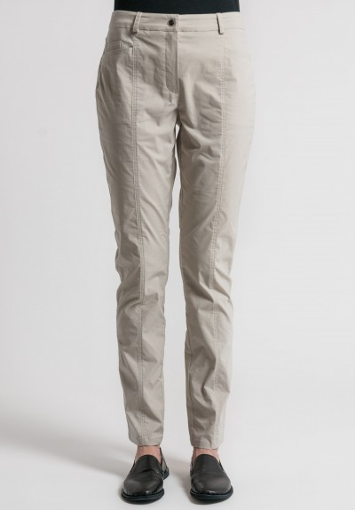 Annette Görtz Stretch Cotton Elias Pants in Gobi