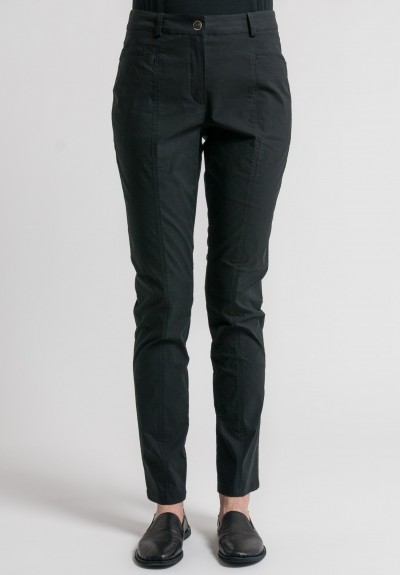 Annette Görtz Stretch Cotton Elias Pants in Nero