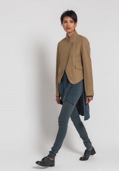 Urban Zen Tailored Blazer in Paperbag