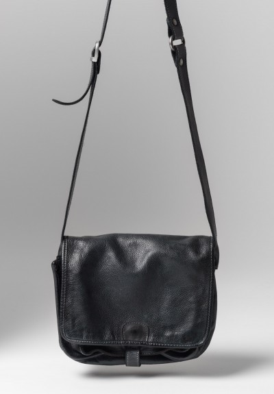 Vive La Difference Swing Calf Cross-Body Bag in Black