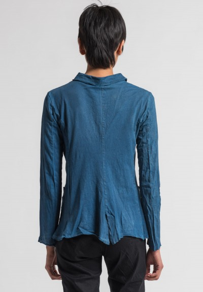 Rundholz Cotton Over-Dyed Jacket in Laguna