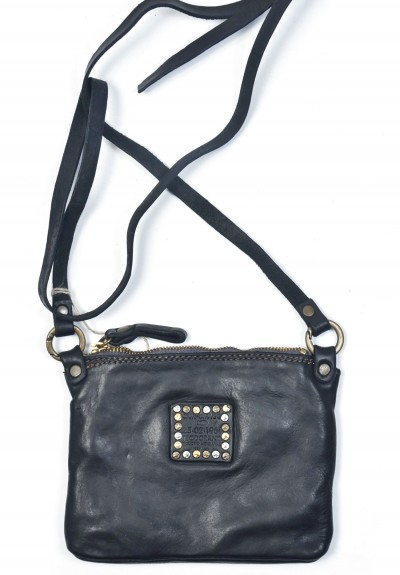 Campomaggi Tracolla Cross-Body Bag in Black