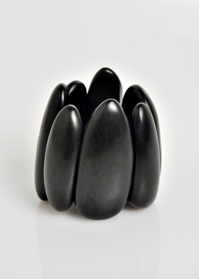 Monies Ebony Oval Cuff