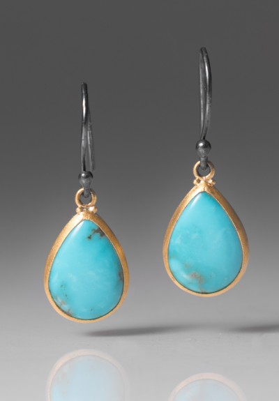 Lika Behar Kingman Turquoise Drop Earrings