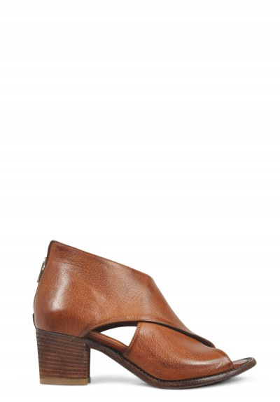 Officine Creative Resnais Open Toe Mid Heel Sandal in Sella