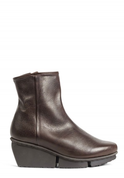 Trippen Force Reduced Ankle Bootie in Espresso
