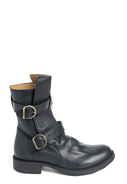 Fiorentini and Baker 2 Buckle Eternity Boot in Black