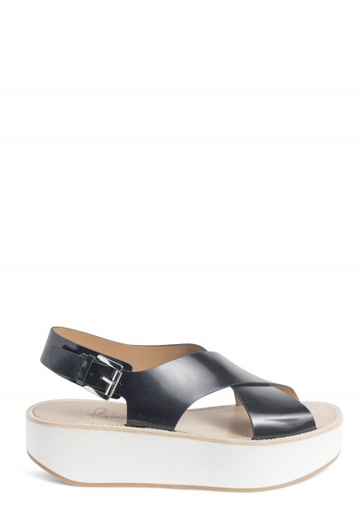 Flamingos Malabar Sandals in Black
