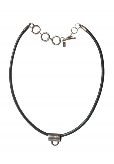 Holly Masterson Adjustable Leather & Bail Necklace