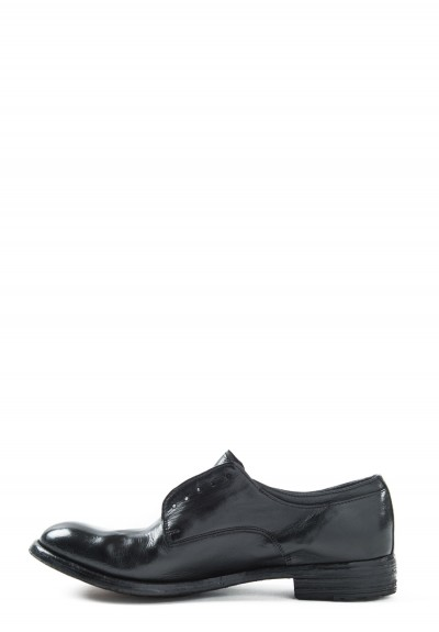 Officine Creative Leather Oxford in Nero
