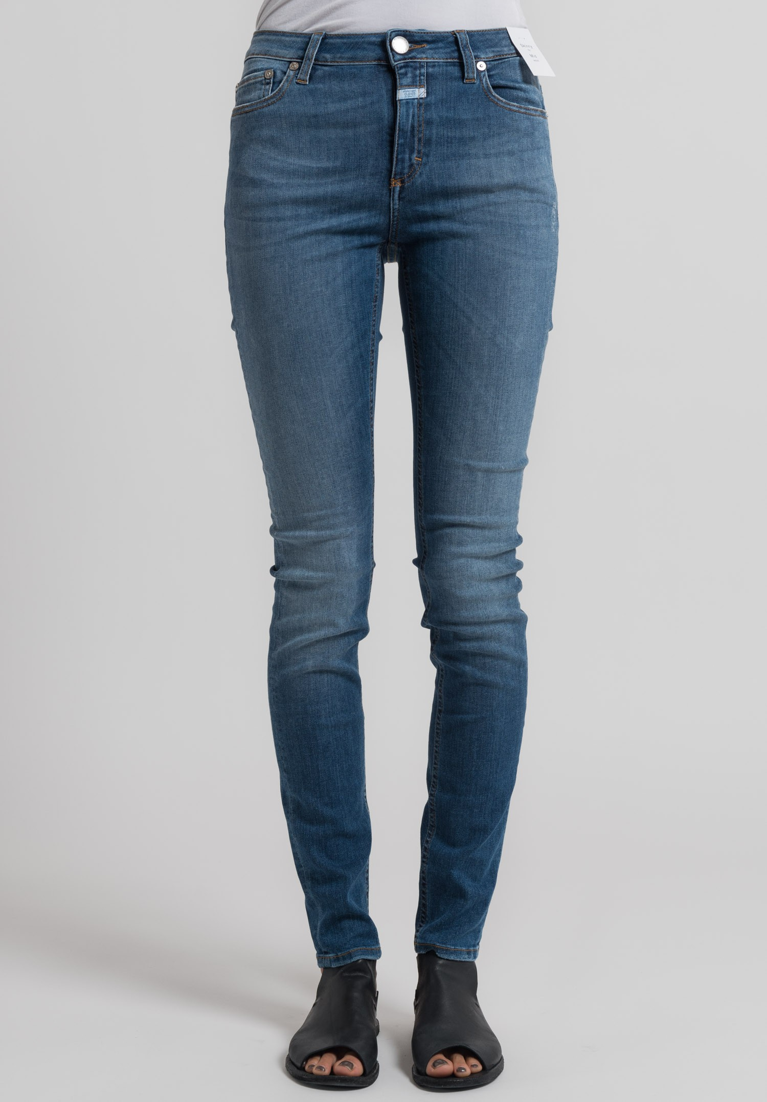 Closed Mid-Rise Skinny Jeans With Mastercard JL0xZ5XkY
