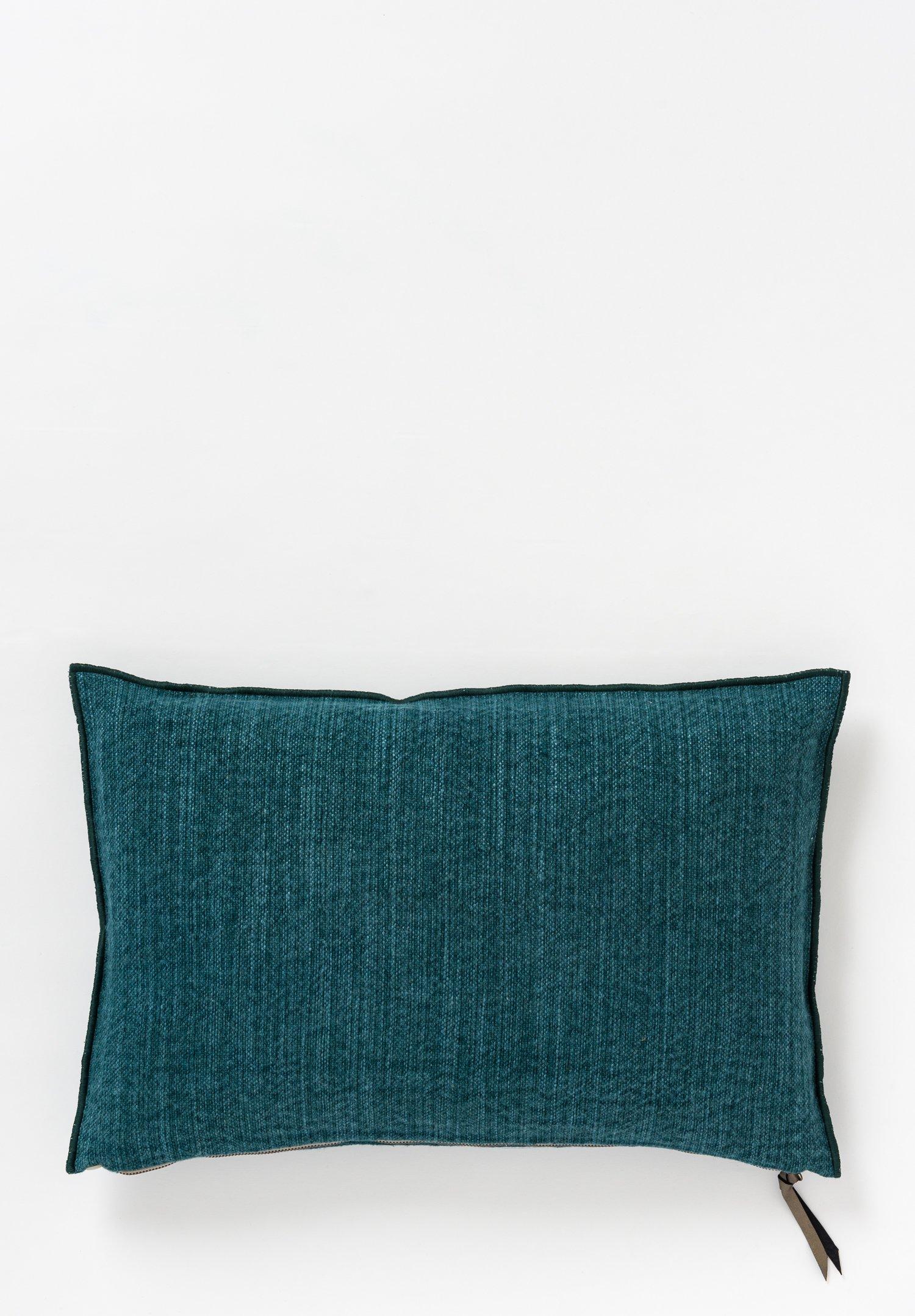 Canvas Santa Fe >> Maison De Vacances Canvas Nomade Pillow In Canard Santa Fe