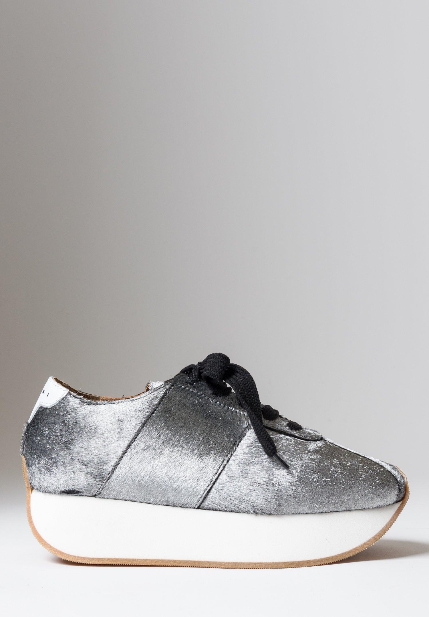 Marni Faux Fur Bigfoot Sneaker | Santa