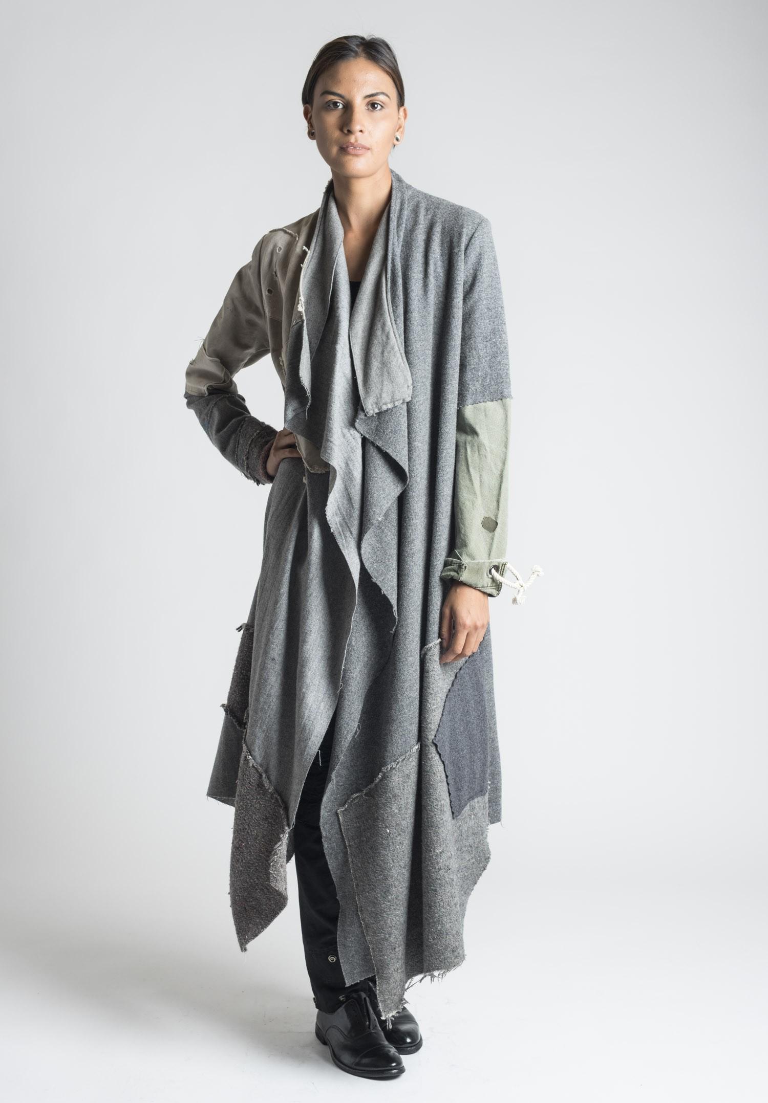 Santa Fe For Sale >> Greg Lauren Nomad Patchwork Coat in Grey | Santa Fe Dry Goods Trippen, Rundholz, Avant Toi, Greg ...