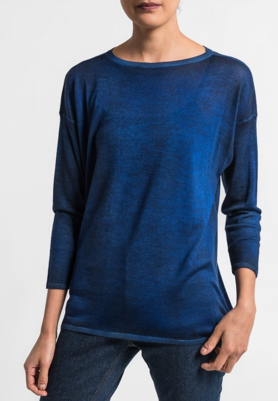 Avant Toi Lightweight Crew Neck Sweater in China