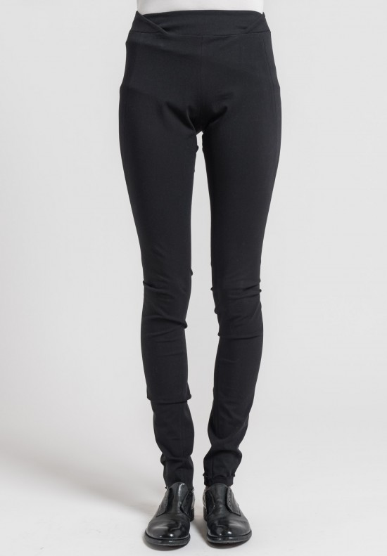 Urban Zen Stretch Canvas Signature Skinny Pants in Black