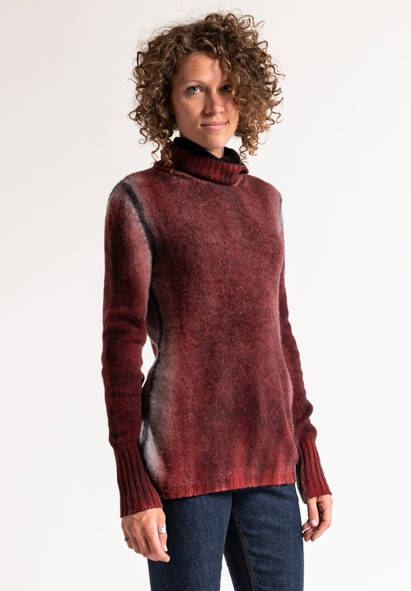Avant Toi Sweater in Coral