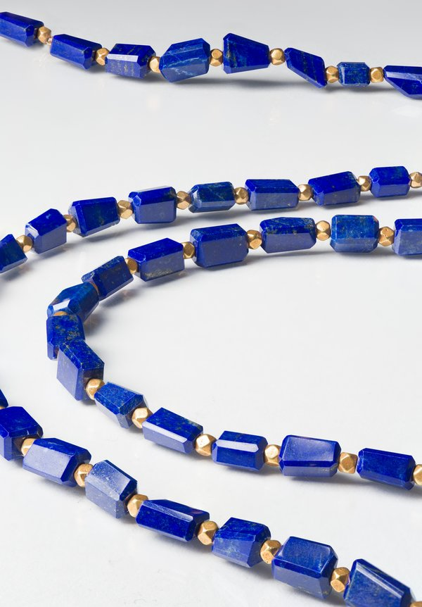 Greig Porter 18K Medium Lapis Necklace
