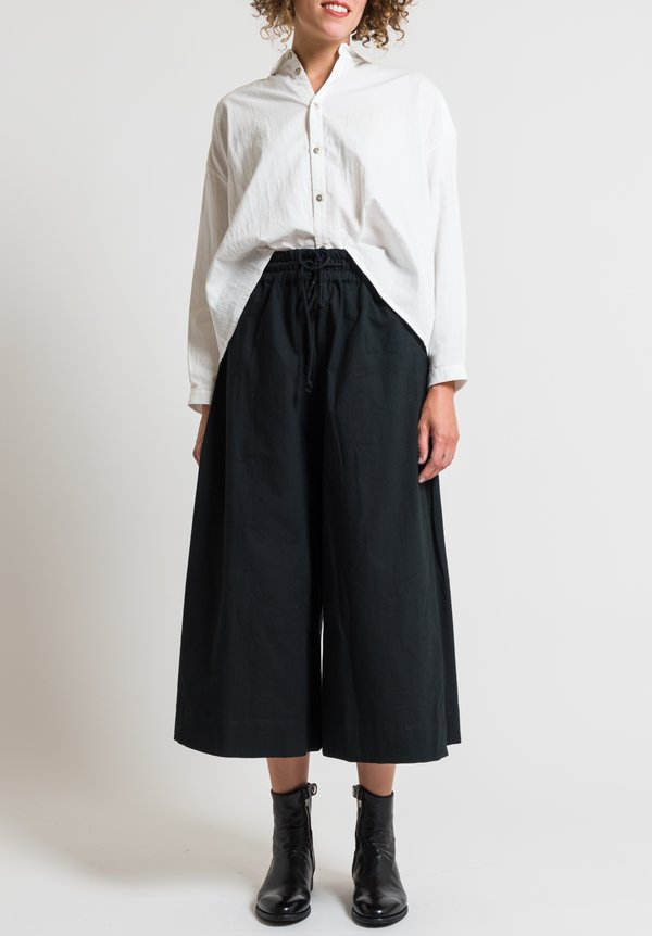 Toogood Calico Boxer Trousers in Flint
