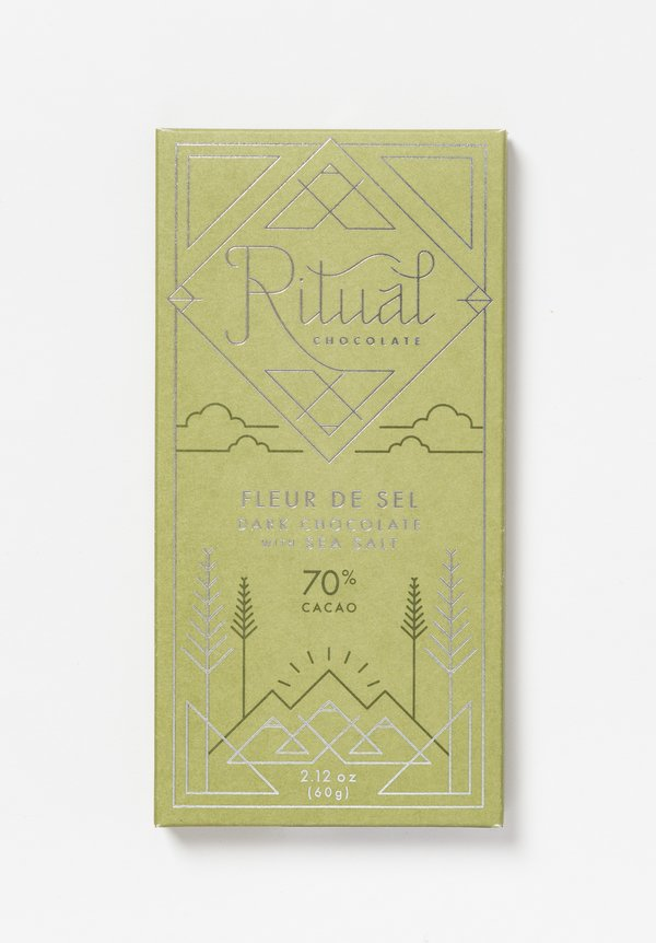 Ritual Chocolate Fleur De Sel Chocolate Bar