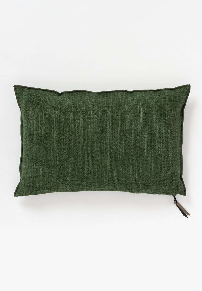 Maison de Vacances Canvas Nomade Pillow in Avocat