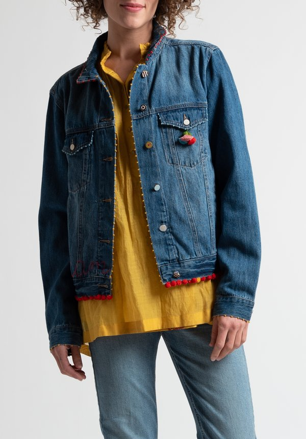 "Péro Limited Edition ""Fall In Love"" Denim Jacket"