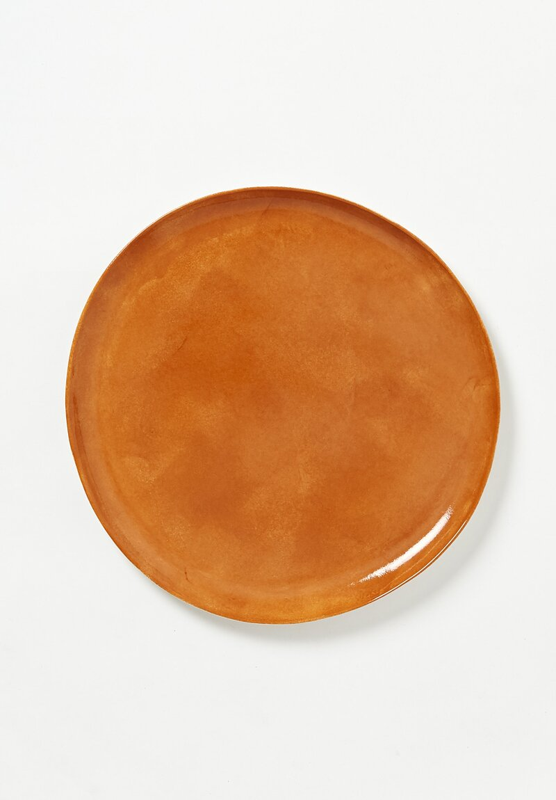 Bertozzi Porcelain Dinner Plate in Bruno