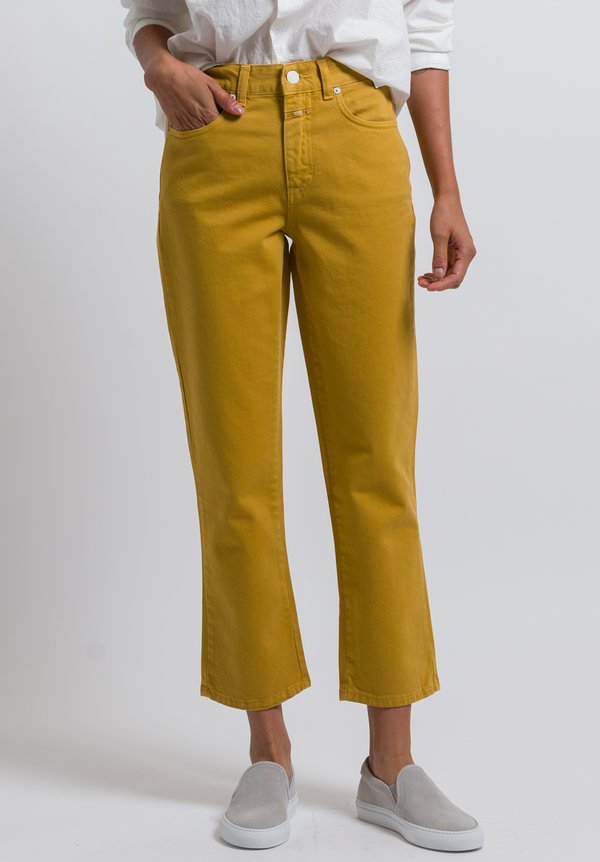 Closed High Waist Glow Jeans in Afternoon Sun