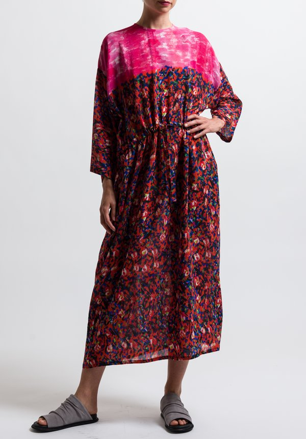 Anntian Simple Dress in Print Y