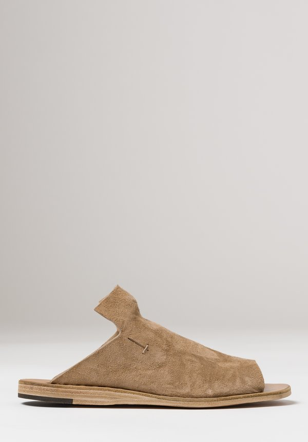 Officine Creative Itaca Suede Slip-On Shoe in Palissandro