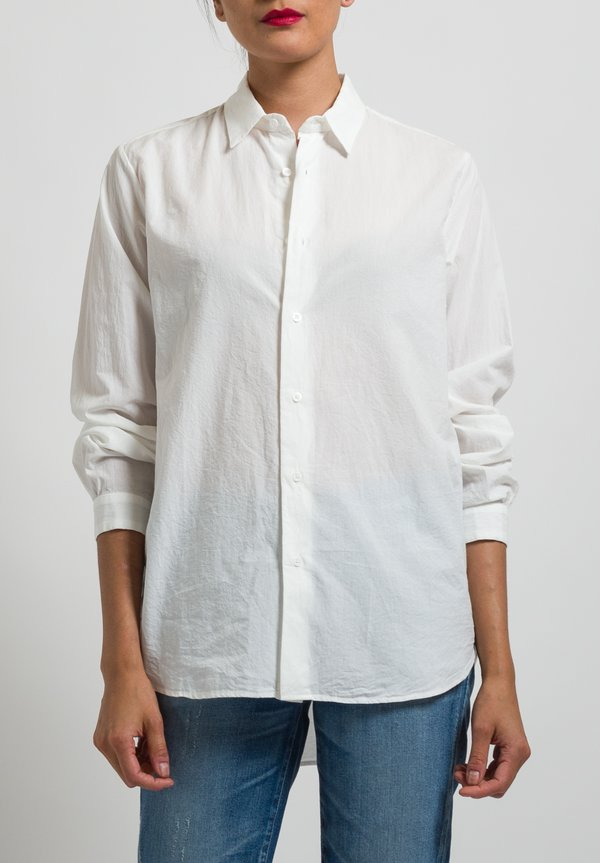 Kaval Typewriter Shirt in Off White