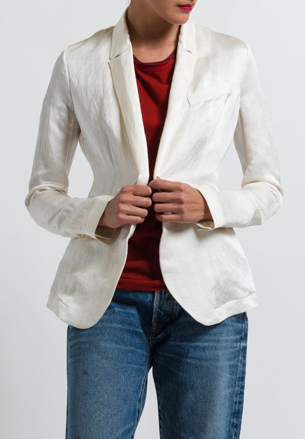Uma Wang Cecchetti Karon Jacket in Off White