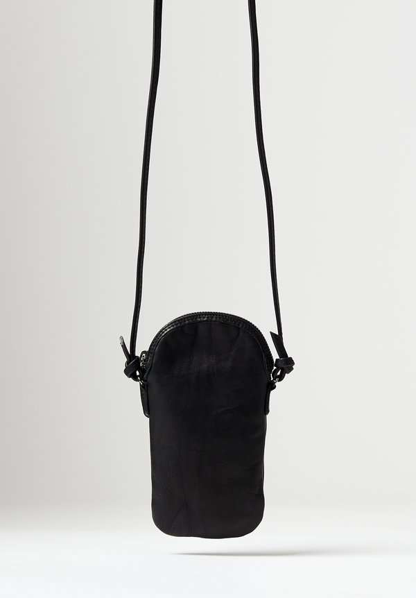 Massimo Palomba Mickey Tibet Pouch Bag in Black