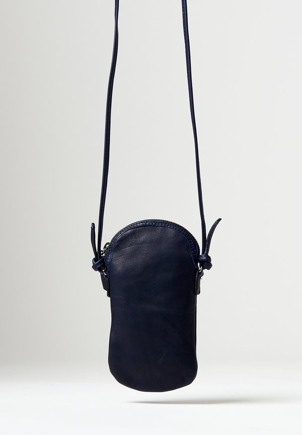 Massimo Palomba Mickey Tibet Pouch Bag in Navy
