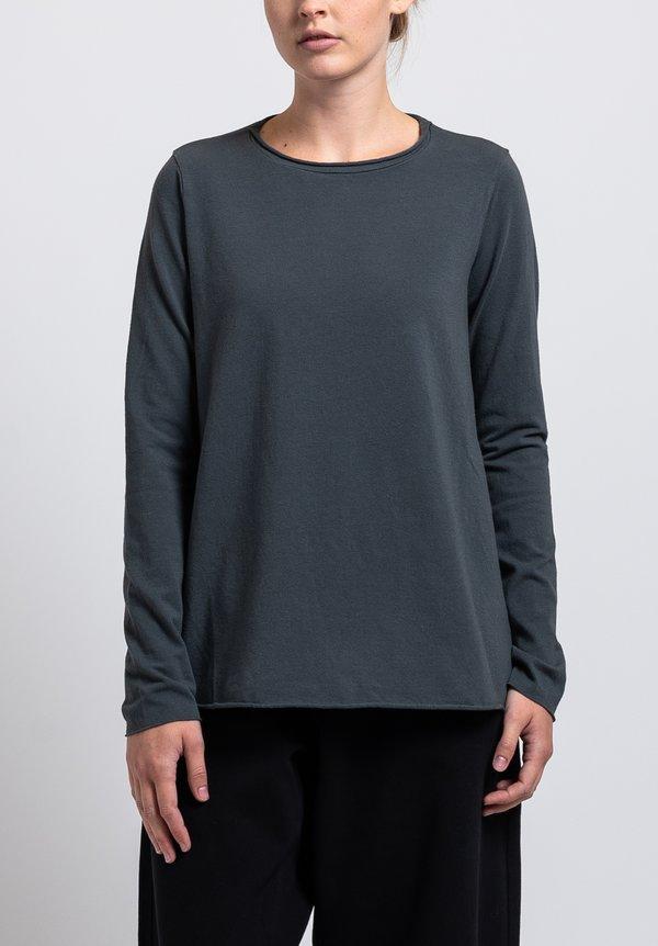 Labo.Art Stretch Cotton Jeppe Jersey Tee in Rabbit