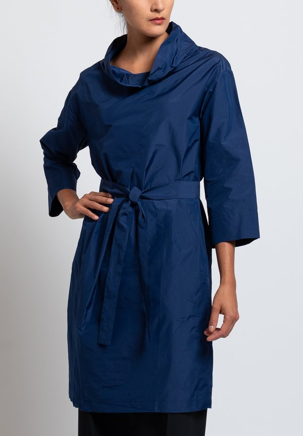 Peter O. Mahler Belted Crash Tunic in Atlantic