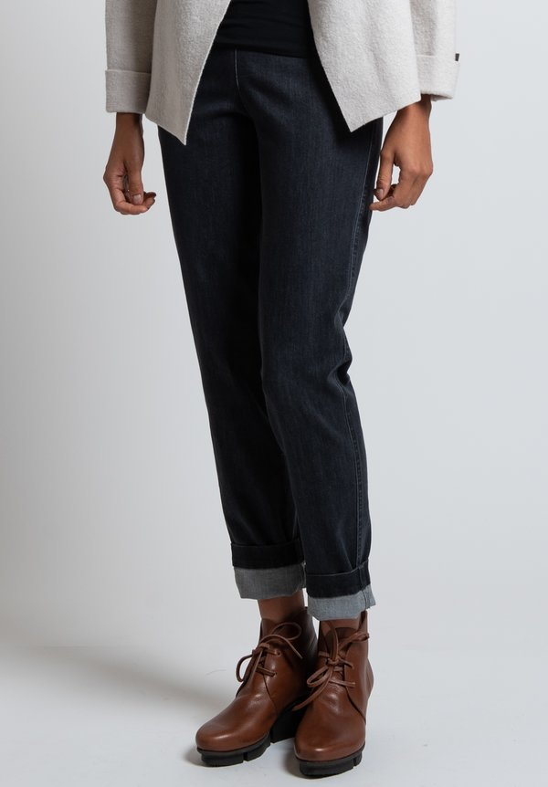 OSKA Denim Ropa Pants in Black
