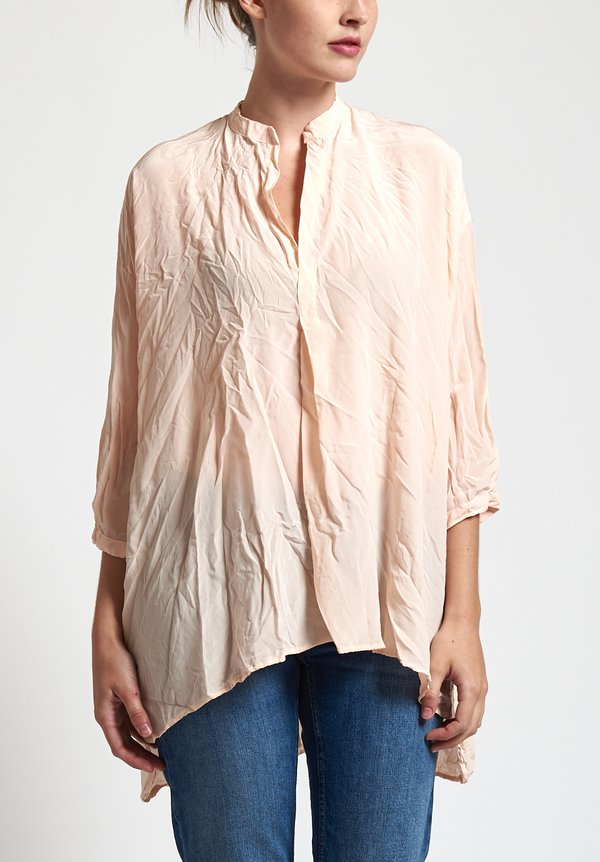 Daniela Gregis Corrente Top in Pink